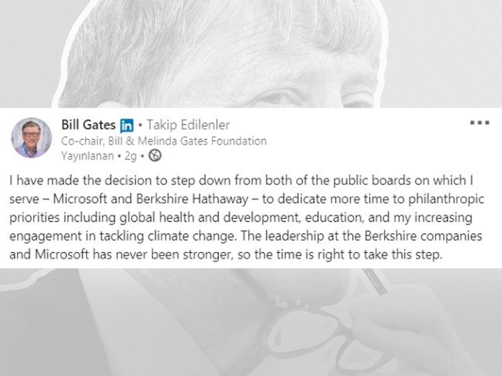 Bil Gates linkedin
