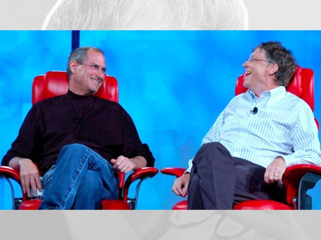 bil gates ve steve jobs