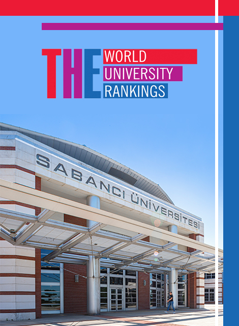 Sabancı University is the top Turkish university at THE rankings